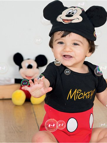 Mickey Mouse Jersey Set - Infant Costume front