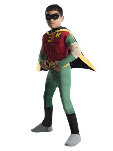Robin Deluxe Muscle Chest - Child Costume