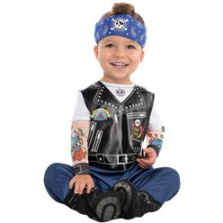 Baby Biker - Baby & Toddler Costume