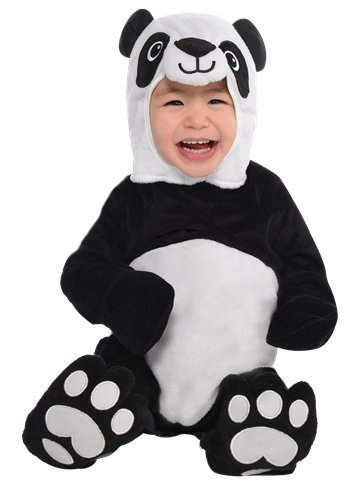 Precious Panda - Baby & Toddler Costume front