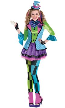 Sassy Mad Hatter - Child and Teen Costume