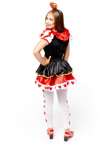 Queen of Hearts - Child and Teen Costume back