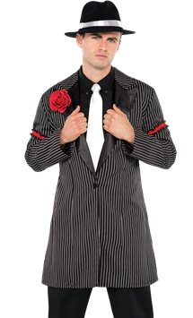 Zootsuit Jacket - Adult Costume