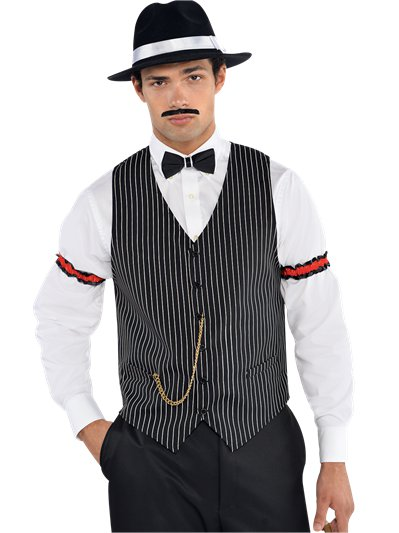 Gangster Vest - Adult Costume