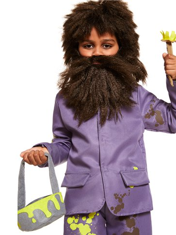 Roald Dahl Mr Twit - Child Costume back