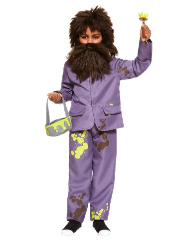 Roald Dahl Mr Twit - Child Costume front
