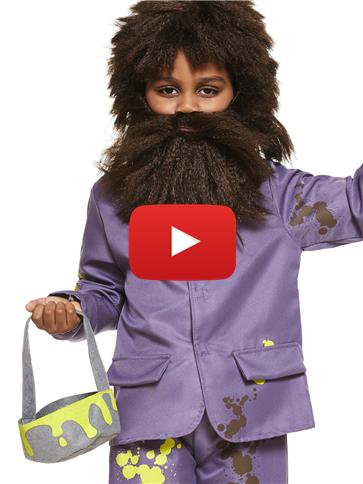 Roald Dahl Mr Twit Child Costume Party Delights