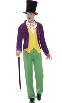 Roald Dahl Willy Wonka - Adult Costume