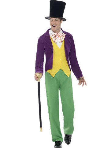Roald Dahl Willy Wonka - Adult Costume front