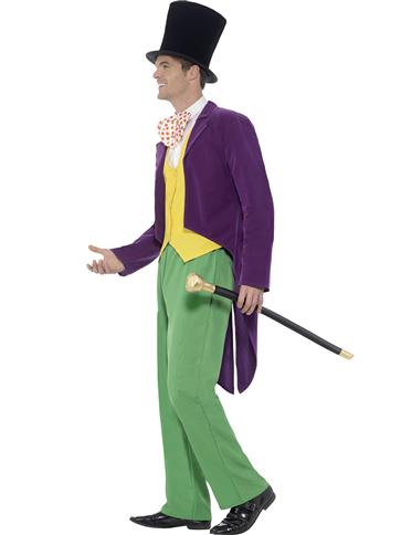 Roald Dahl Willy Wonka - Adult Costume left