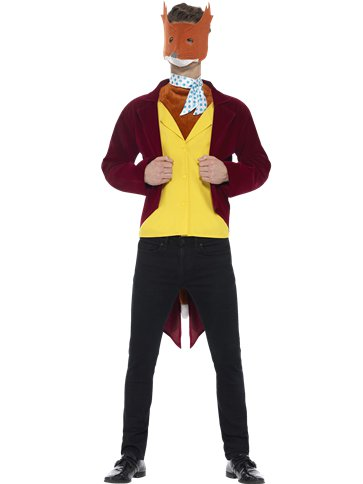 Roald Dahl Mr Fox - Adult Costume front