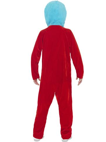 Dr Seuss Thing 1/2 - Child Costume back
