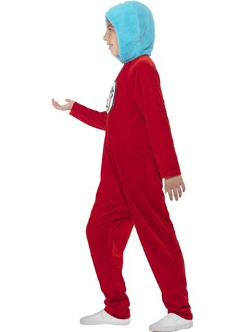Dr Seuss Thing 1/2 - Child Costume left