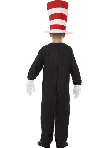 Cat in The Hat - Child Costume back