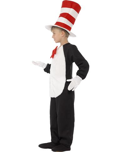 Cat in The Hat - Child Costume right