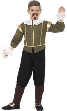 Shakespeare - Child Costume