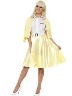 32b086df0dfb Grease Fancy Dress - Danny, Sandy, Pink Ladies & T Birds   Party ...