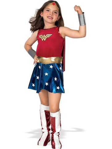 Wonder Woman - Child Costumes front