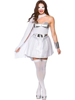 Supereroina bianca - Costume Adulto