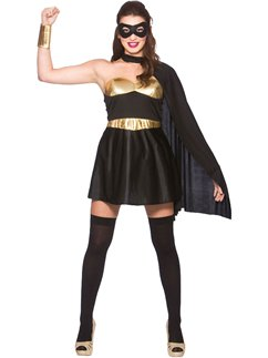 Supereroina nera - Costume Adulto