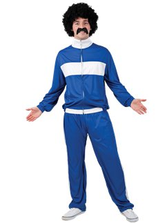 80's Blue Retro Trackie
