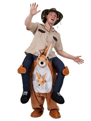 Carry Me Kangaroo   Adult Costume