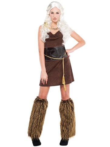 Warrior Dress - Adult Costume front