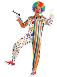Clown Jumpsuit - Child Costume