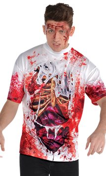 Guts Illusion T-Shirt - Adult Costume