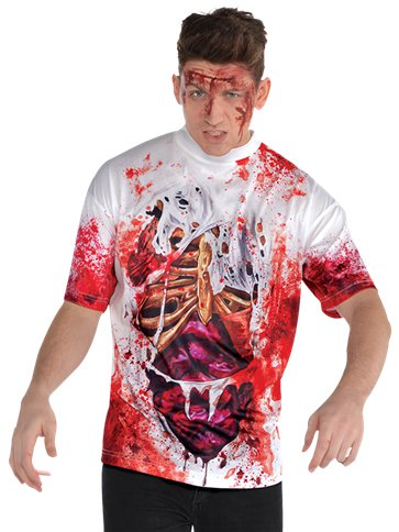 Guts Illusion T-Shirt - Adult Costume front