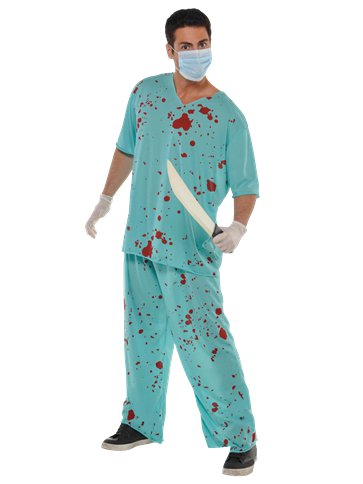 Bloody Scrubs - Adult Costume front