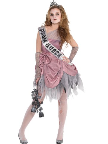 Zom Queen - Child and Teen Costume front