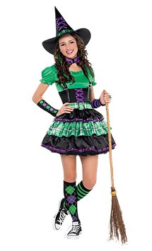 Wicked Cool Witch - Child and Teen Costume