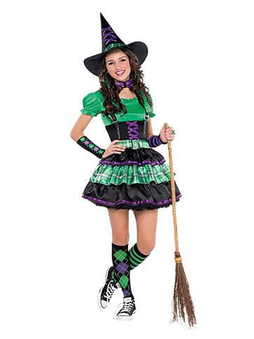 Wicked Cool Witch Child And Teen Costume Party Delights