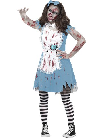 Zombie Tea Party - Teenage Costume front