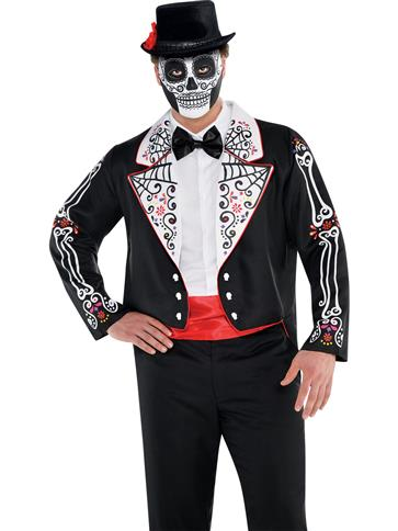 Day of the Dead Tailcoat  front