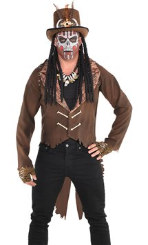 Witch Doctor Jacket - Adult Costume