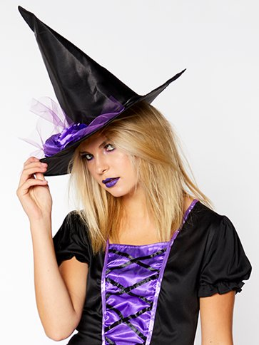 Glamorous Witch - Adult Costume back