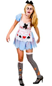 Alice in Zombieland - Adult Costume