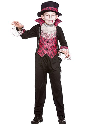 Victorian Vampire - Child Costume front