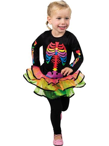 Brightly Bony - Child Costume front