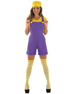 Yellow Plumbers Mate - Adult Costume