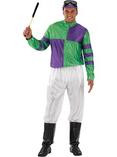 Green and Purple Jockey