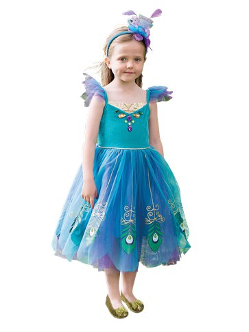 Peacock Fairy - Child Costume front