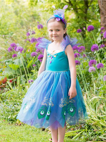 Peacock Fairy - Child Costume left
