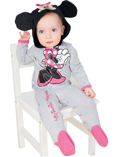 Minnie Mouse Romper - Baby Costume
