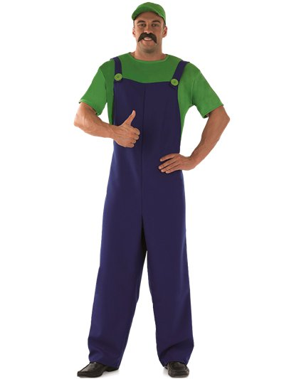 Plumbers Mate Green - Adult Costume