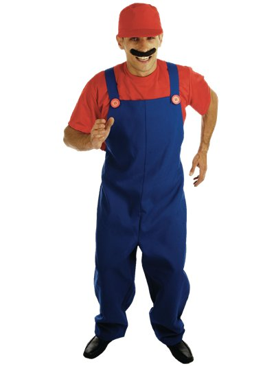 Plumbers Mate Red - Adult Costume