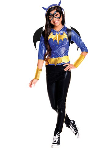 Batgirl Deluxe - Child Costume front