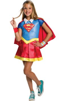 Supergirl Deluxe - Child Costume